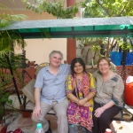 Leaving behind the delightful hospitality of Aman Homestay in Agra