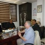 Meeting with Mr Nandwani of Deepak Export accompanied by Mohsin Khan of ETBC