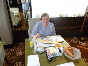 Breakfast in Hotel Fortune Palace - Jamnager