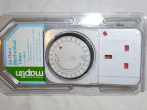 Timer Switch (24 Hour) with built in Manual Override Button